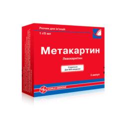 метакартин розчин для ін'єкцій